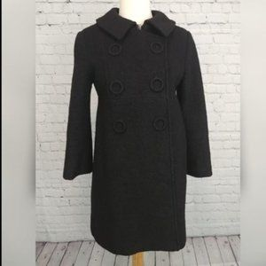 Moschino Cheap and Chic Wool Peacoat Black sz S